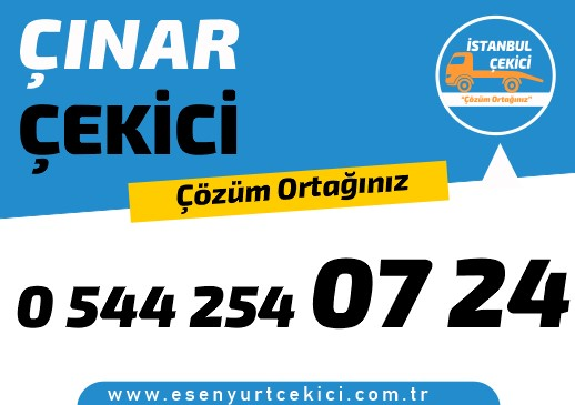 Çınar çekici olarak, Çınar oto kurtarıcı ,  Çınar en yakın çekici ve Çınar yol yardım firmamızın yaygın ağı ile 7/24 her konuma uygun çözümler üretir.
