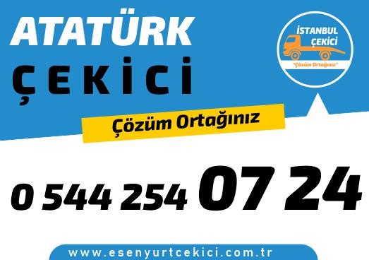 Atatürk Çekici firmamız , Atatürk Oto Kurtarıcı , Atatürk Yol Yardım ve Atatürk En Yakın Çekici 7/24 hizmetleri vermektedir .